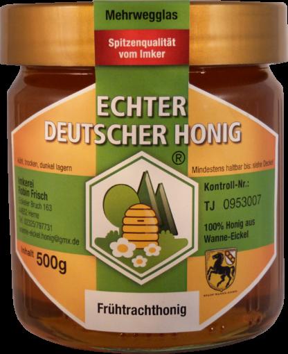 Echter Deutscher Honig Frühtracht 500g