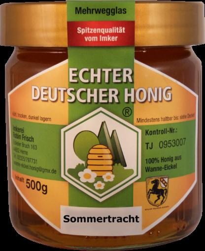 Echter Deutscher Honig Sommertracht 500g