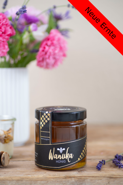 WANUKA Premium Honig 500g Front